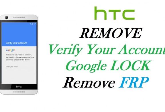 طريقة تخطي حساب GOOGLE ACCOUNT لأجهزة HTC