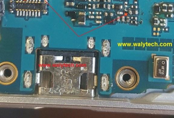 صور توضيحية لبعض المسارات المهمه لجهاز J710F