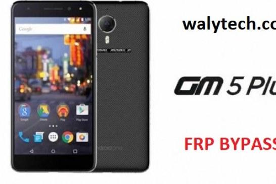 FRP BYPASS GM5PLUS  تخطي حساب غوغل جنرال موبايل 5 بلس