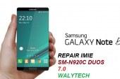 حل مشكلة ربير ايمي للجهاز N920C DUOS خطين اصدار 7.0
