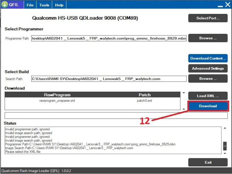 الحل لإزالة frp لجهاز    lenovo k5 a602041  بأقل من دقيقة