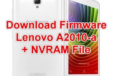 فلاشة الجهاز Lenovo A2010-a MT6735 + NVRAM