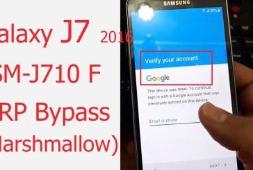 طريقة تخطي حساب جوجل للجهاز J710F حماية B3 اصدار 6.0.1 خلال دقيقتين