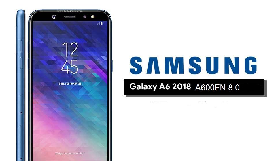 الروم الرسمي ل جهاز A6 2018 اصدار 8 0 A600FN حماية U1 REV1