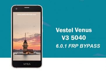 تخطي حساب جوجل Vestel Venus V3 5040